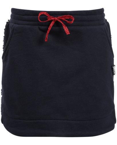 Nachtblauer Sweatrock